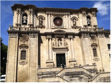 Samos, oldest monastery in the western world.