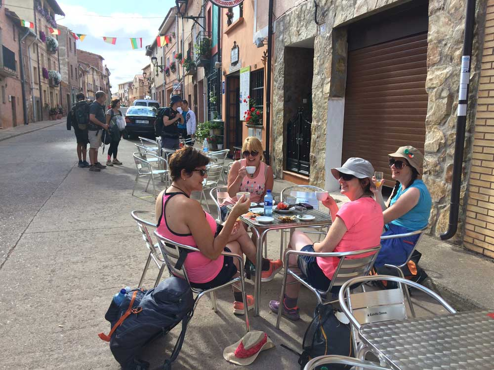 Coffee on the Camino