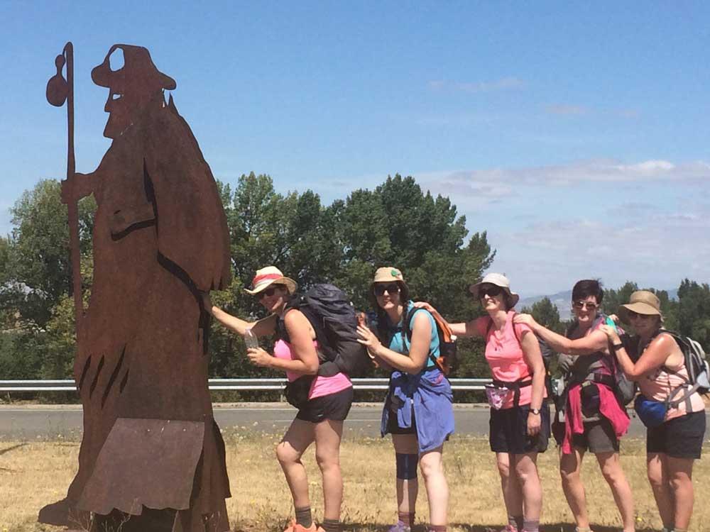 Santiago Group Statue